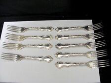 Lot of 7 Birks Silver plate Louis De France Regency Plate Luncheon Forks