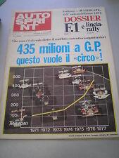 AUTOSPRINT novembre 1976 n. 47 - MOLTO BUONO!