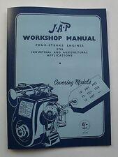 JAP Workshop Manual for Models 10, 10/1, 10/2, 12, 12/1, 12/2, 15 & 15/2