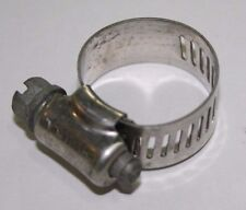 """1/2"""" stainless worm clamps (10 clamps in a package)"""