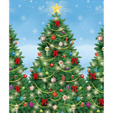 40ft Christmas Tree Scene Setter Room Roll Party Decoration