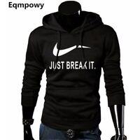 2019 Hoodies Men Sweatshirt Long Sleeve Pullover Hooded Sports Sweatshirt Nike