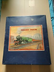 HORNBY TRAINS NO.1 501 PASSENGER SET GAUGE O CLOCKWORK  BOXED