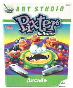 Fisher Price Pixter Color Video Software ARCADE Age 4+ Toy By Art Studio 2005