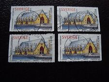 SUEDE - timbre yvert et tellier n° 2023 x4 obl (A29) stamp sweden (A)