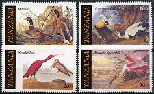 Tanzania 1986 SG#464-7 Birds MNH Set #A82994