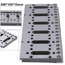 1x Wire Edm Fixture Board Wedm Jig Tool 300X120mm For Clamping & Level Stainless