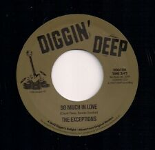 NORTHERN SOUL 45 THE EXCEPTIONS - SO MUCH IN LOVE / MILTON BENNETT - I'M READY