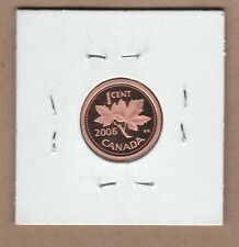 2006 Canadian Proof One Cent Penny from Proof Set