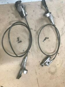 Hayes Nine Hydraulic Disc Brake Set Front And Rear (has issues)