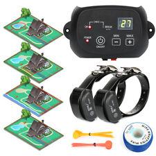 Underground Electric Pet Dog Fence Fencing 2 Wireless Shock Collar Waterproof