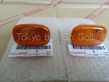 Toyota MR2 MR-S Roadster Spyder ZZW30 Side Turn Signal Lamp Lens Pair Genuine