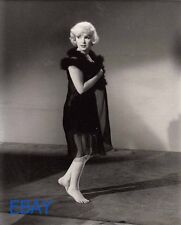 Marilyn Monroe barefoot candid on set Photo from ORIGINAL NEG