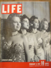 LIFE Feb 9, 1942 Australia in WW II, Bataan, Italian Underground, WW II posters