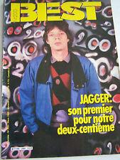 MAGAZINE BEST . MUSIQUE POP , ROCK , BLUES , ETC  N° 200 . 1985 .