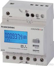 SOCOMEC - Compteur d'énergie COUNTIS E20 TRIPHASÉ, DIRECT 63 A - ref : 48503003
