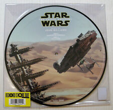 """John Williams STAR WARS The Force Awakens 10""""EP PICTURE DISC RSD 2016"""