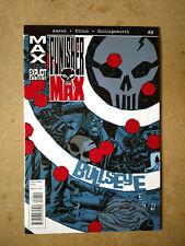 PUNISHER MAX #8 FIRST PRINT MARVEL COMICS (2010) MAX COMICS