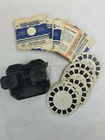 Vintage - Sawyers - View Master - With 14 Reels - Black - Free P&P - Used