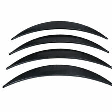 Universal Car Flexible Wheel Fender Flares Tire Eyebrow Kit W/ Carbon fiber Look