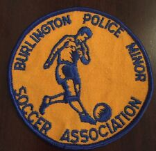 1980's Burlington Police Minor Soccer Association Ontario Soccer Club Patch