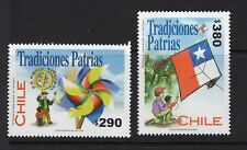 CHILE 2002 Traditions Flag Folklore Kite MNH