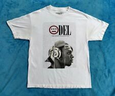 DEL THE FUNKY HOMOSAPIEN Limited Edition Large 2 Sided T-shirt Clout Rap Hip Hop