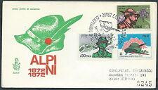 1972 ITALIA FDC VENETIA 324 ALPINI TIMBRO ARRIVO - EDG30