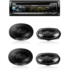 Pioneer CD Receiver /MIXTRAX with 2 pairs 6