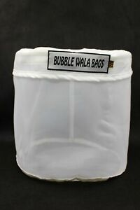 All Mesh Micron Zipper Bubble Bag Gallon ZIP Washing Machine Hydroponic extract