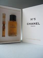 CHANEL 2004 miniature Box Set No5 Olio da Bagno 19ml & ELIXIR Sensuel CORPO GEL 1.8ml