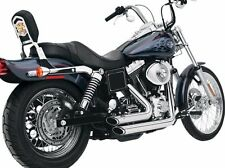 Vance And Hines Shortshots Staggered Chrome 1991-2005 FXD Dyna Harley