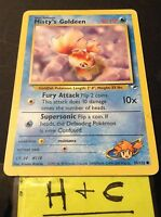 Pokemon Cards - Misty's Goldeen # 85/132 GYM HEROES set [NM+] (2000)