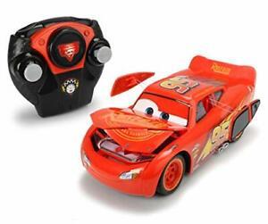 Jada Toys Disney Pixar Cars 124 Lightning McQueen RC Remote Control Car 2.4 G...