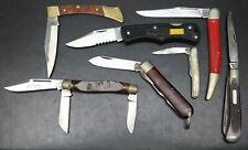 Lot of 7 Pocket Knives - Condition Varies - Old Timer Craftsman Imperial Etc...