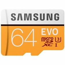 Samsung 100MB/s (U3) MicroSD EVO Memory Card with Adapter 64 GB (MB-MP64GA)