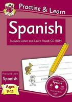 Práctica & Learn: Español (Edades 9-11) - con Vocab Cd-Rom por Richard