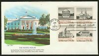 #1782a 15c American Architecture, Fleetwood FDC **ANY 4=FREE SHIPPING**