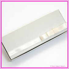 Bomboniere/Favor Latte Embossed Chocolate Heart Rectangle Box - Pack of 25