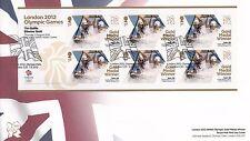 London 2012 Olympic Games Gold Medal Winner T Baillie,E Scott Canoe Miniature Sh