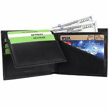 Bestkee RFID Blocking Leather Bifold Wallets for Men Credit Card Protector