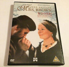 Her Majesty Mrs Brown (DVD) Judi Dench Billy Connolly - 1997 LOVE STORY - RARE