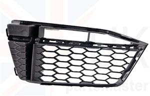AUDI TT 2015-2017 GENUINE S-LINE FRONT BUMPER LOWER GRILL BLACK TRIM RIGHT O/S