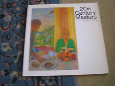 20th Century Masters From The Metropoliltan Museum Of Art. New York. 1986
