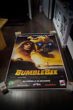 BUMBLEBEE 4x6 ft Bus Shelter Movie Poster Original 2018