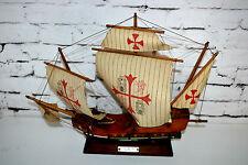 "VINTAGE Cristoforo Colombo santa maria 1492 19 ""modello in scala nave [ pl3459 ]"