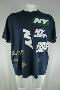 NFL Test Print (Jets & Saints) Gildan Men's Big & Tall T-Shirt