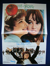 1976 MELODY Mark Lester Jack Wild Tracy Hyde Japan VINTAGE POSTER VERY RARE