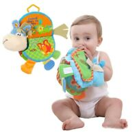Newborn Happy Study Donkey Toys Cloth Book Intelligence Early Education Funny UK