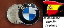 INSIGNIA EMBLEMA LOGO AZUL PARA BMW DE 74mm 3D REF 51148132375 - 2 TETONES PINES